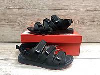 Мужские кожаные сандали в стиле Nike, фото 1