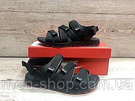 Мужские кожаные сандали в стиле Nike