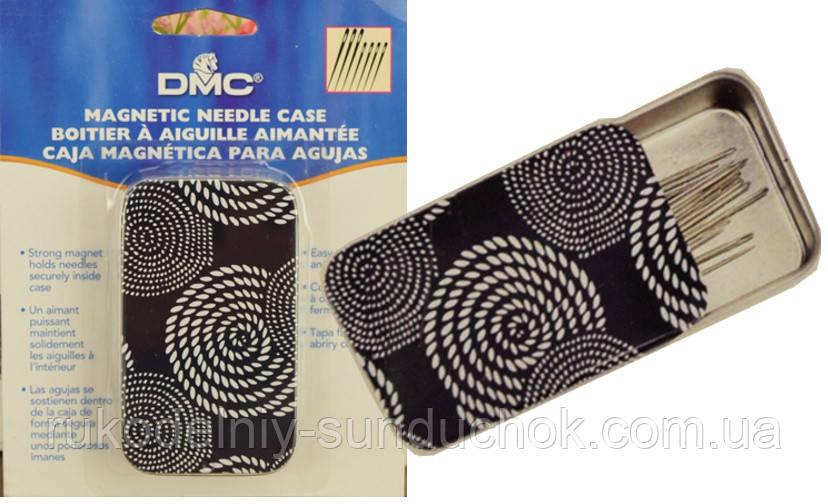 Магнитная жестяная игольница DMC (6140/3)