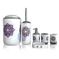 Набор аксессуаров для ванной комнаты Bathlux Flor de clasico 70938 - 132665