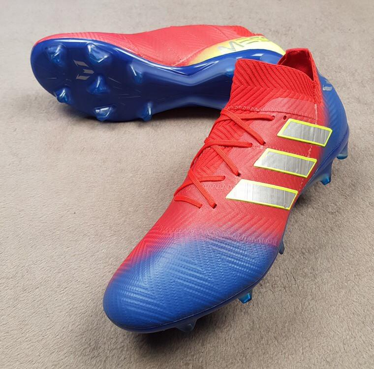 834886fa Бутсы Adidas Nemeziz Messi 18.1 FG - Action Red — в Категории ...