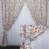 """Комплект готовых штор коллекция """"Элит Прованс"""". Код 313ш"""