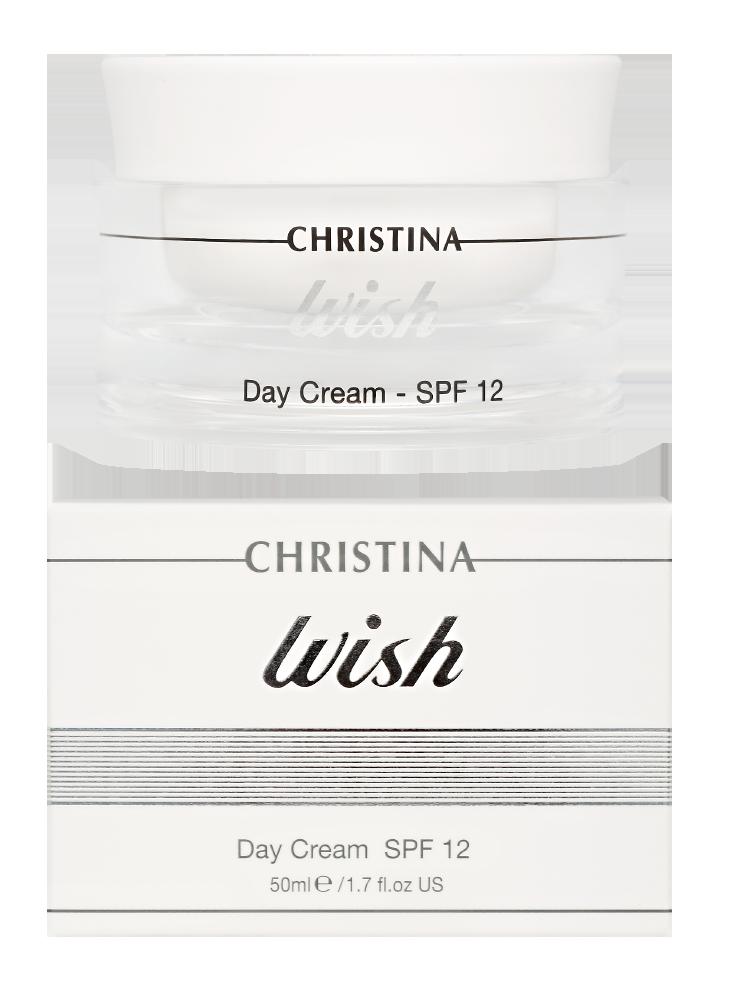 Виш Дневной крем для лица SPF12 Wish Day Cream SPF12, 50 мл