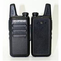 Комплект Раций Baofeng BF-R5\T7 Портативная радиостанция USB зарядка, фото 3