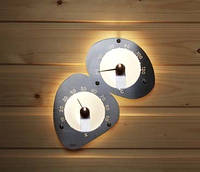 Оптоволоконные светильники для сауны Cariitti Термометр-гигрометр