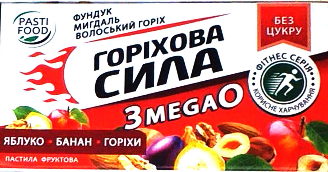 "Пастила ""Горіхова сила"" Яблуко, Банан, Горіхи"