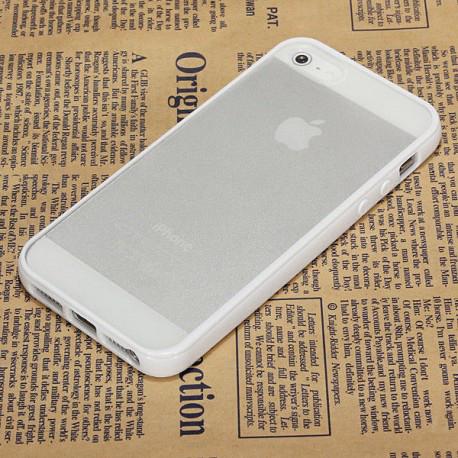 Чохол TPU Накладка для IPhone 5/5S Білий