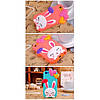Чехол Cute Heart Hello Rabbit Оранжевый для IPhone 5/5S, фото 5