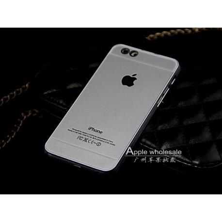 Чехол Накладка Apple для IPhone 6/6S Серебристый