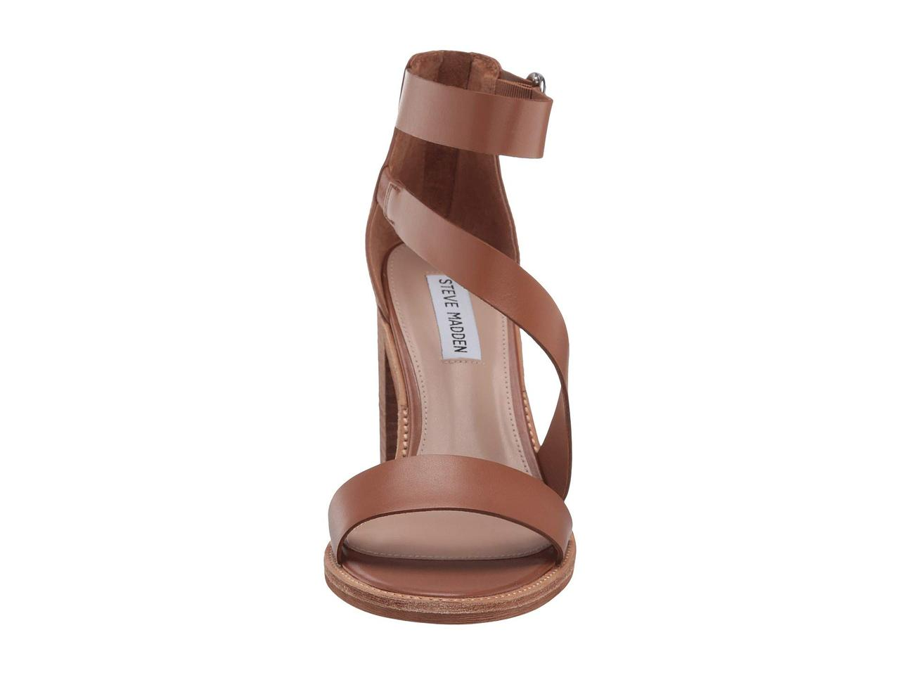 cfed27e64d ... Туфли на каблуке (Оригинал) Steve Madden Collins Heeled Sandals Cognac  Leather, фото 8