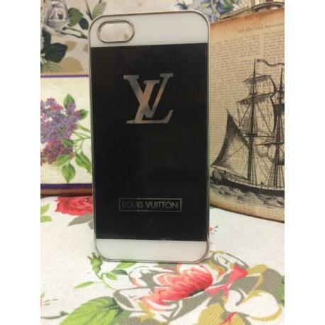 Накладка алюминиевая LV для iPhone 5/5S Черная