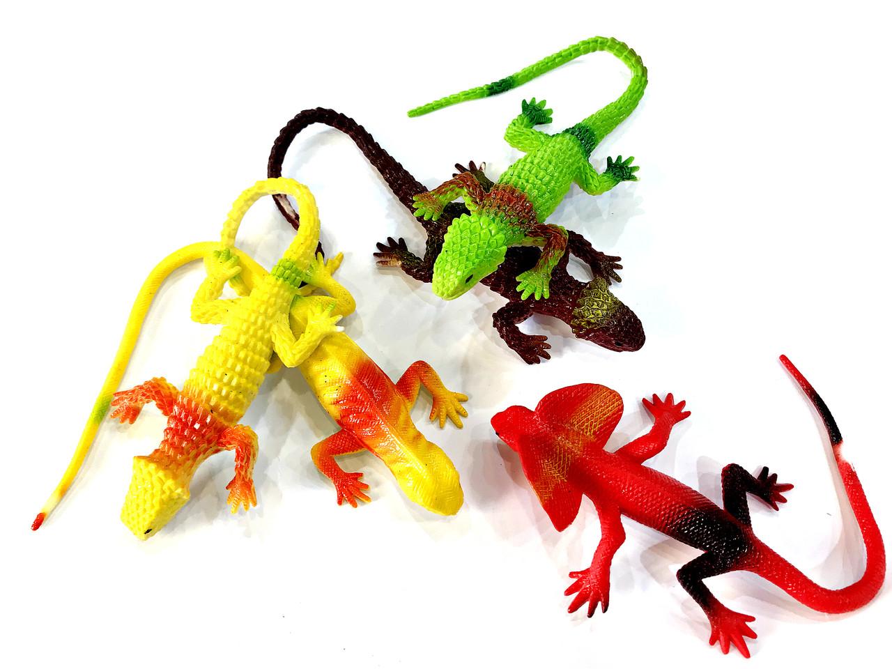 Игрушка Рептилия резиновая