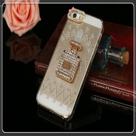 Пластиковая накладка CHANEL Luxury для iPhone 5/5S N1