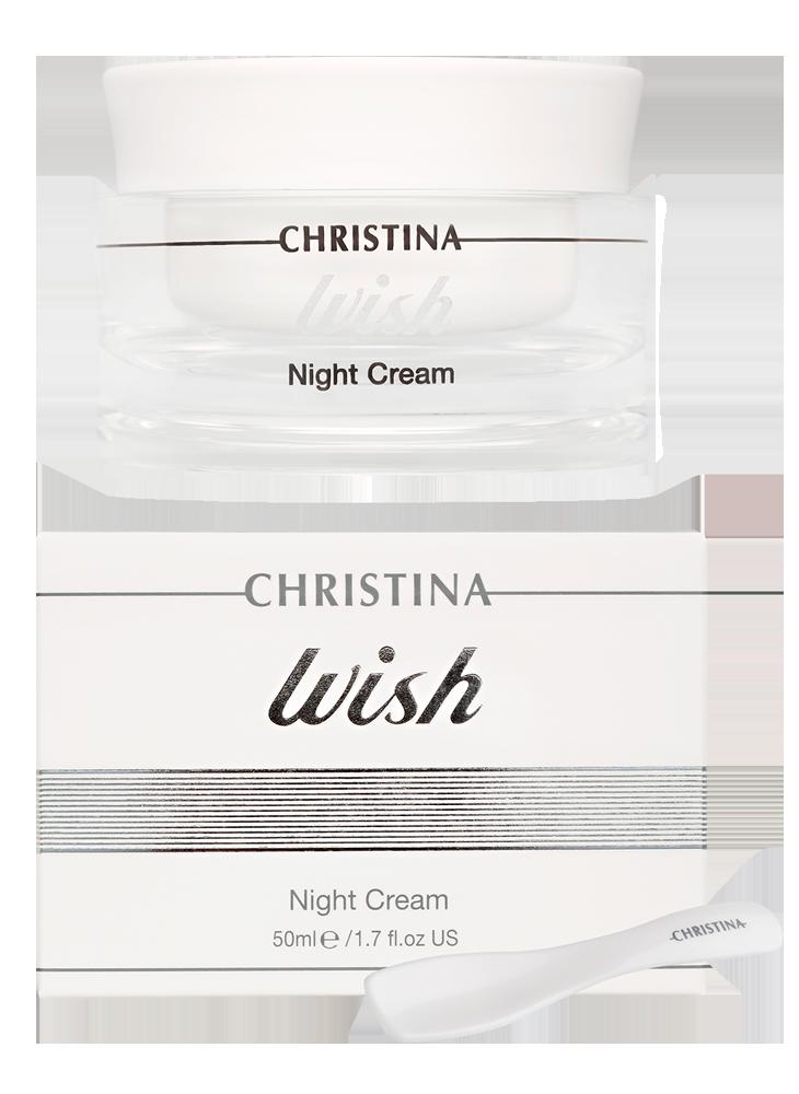 Виш Ночной крем для лица Wish Night Cream, 50 мл
