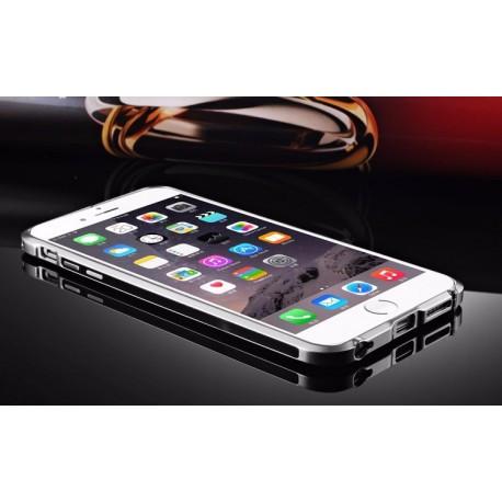 Алюминиевый Бампер для Iphone 6/6s Черного цвета