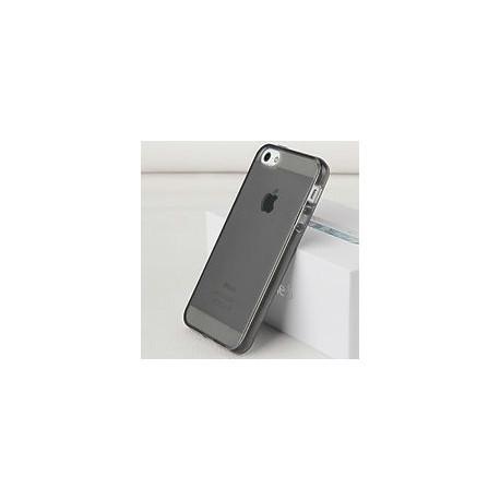 Силиконовый чехол твердый для iPhone 5/5S/SE Серый