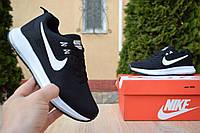 Женские кроссовки в стиле  Nike Zoom Pegasus    черные с белым, фото 1
