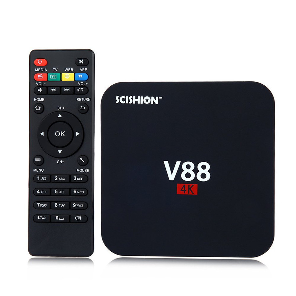 Cмарт ТВ приставка Scishion V88