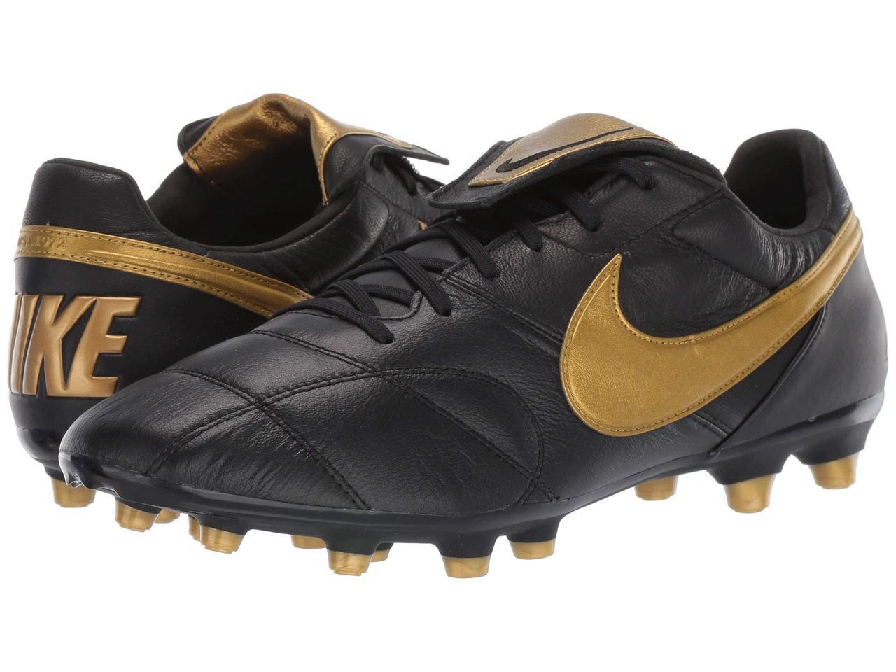 6e7ef3acbf8e Кроссовки/Кеды (Оригинал) Nike Premier II FG Black/Metallic Vivid Gold/