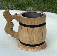 Пивной бокал в наличии Большой выбор разных форм из качественной древесины