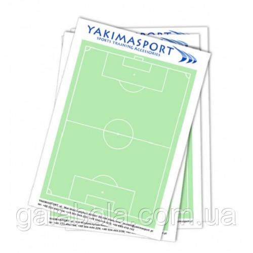 Блокнот футбольний для тренера YAKIMASPORT