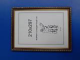 Рамка стандартная А4 (210х297).Рамка для вышивки.Рамка для фото. Рамка для диплома., фото 3