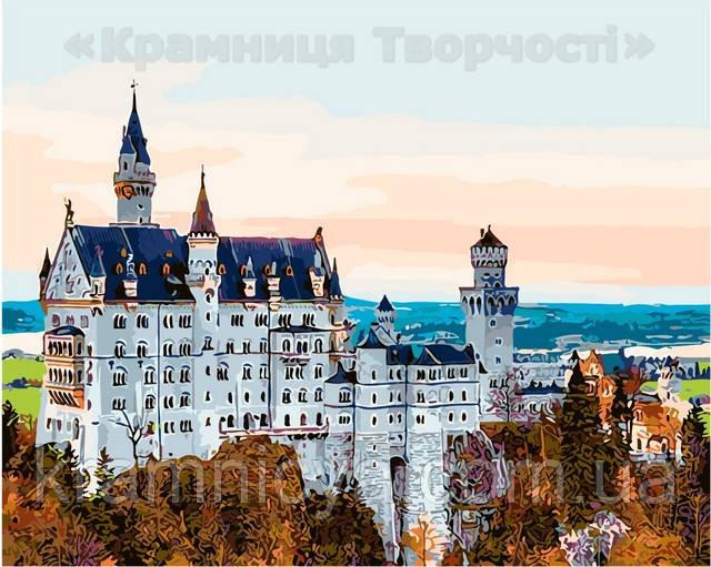 Картина по номерам 40х50 Белый замок (AS0139)