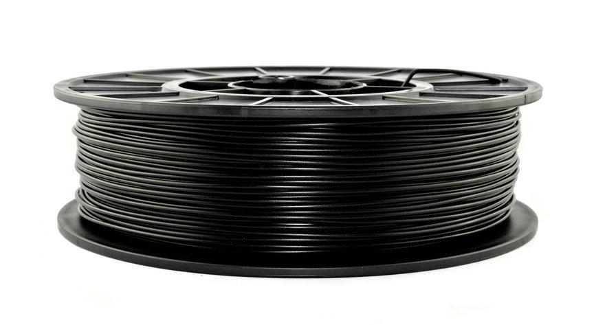 Нить APLA пластик для 3D печати, Черный (1.75 мм/0.75 кг)