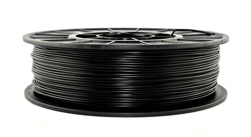 Нить APLA пластик для 3D печати, Черный (1.75 мм/0.75 кг), фото 2