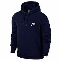 Мужская спортивная толстовка Nike, синяя