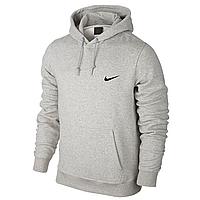 Толстовка мужская кенгуру Nike, серая