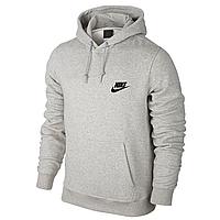 Мужская спортивная толстовка Nike, серая