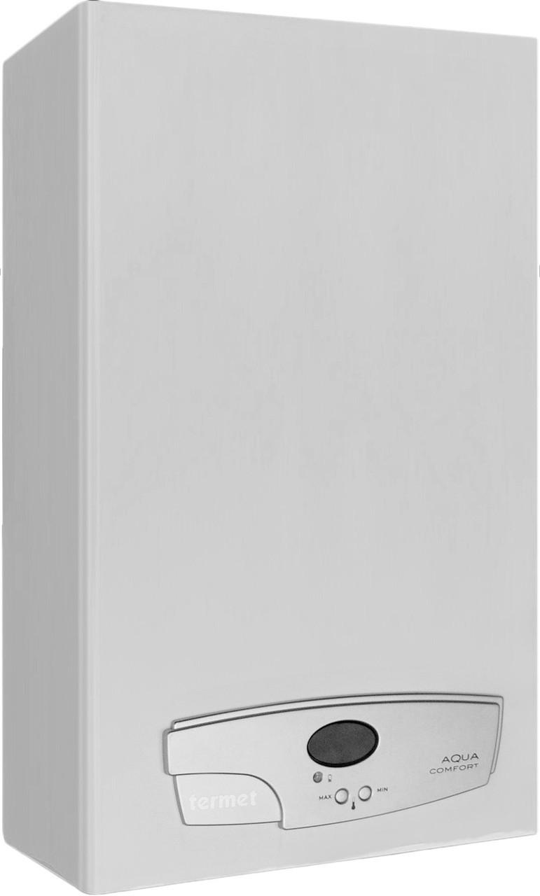 Газовый проточный водонагреватель Termet AQUA COMFORT TURBO 19-03