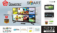 Телевизор Domotec TV 32 32LN4100 / SMART / ANDROID RAM-1GB MEM-8GB