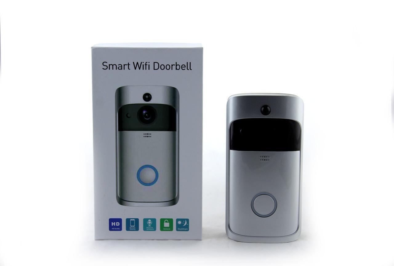 Домофон SMART DOORBELL wifi CAD M6 1080p (работает от 2 х 18650 в комплект не входят) (60)