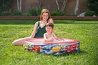"""Бассейн детский маленький  """"Тачки""""  57101  INTEX, надувной бассейн, детский надувной бассейн, надувной бассейн для дачи"""