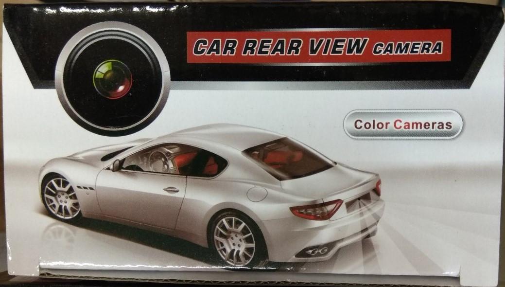 Камера заднего вида с подсветкой LED Car Rear View 707