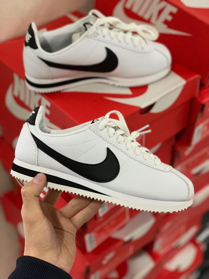 f0f4ec48e8a Женские Кроссовки Nike Cortez White. Натуральная Кожа — в Категории ...