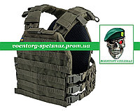 Бронежилет (чохол) Plate Carrier Perun 3 Ranger Green зеленая олива