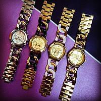Женские кварцевые наручные часы Michael Kors Classic с плетеным ремешком, фото 1