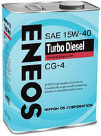 ENEOS TURBO DIESEL API CG-4 15W-40 4л