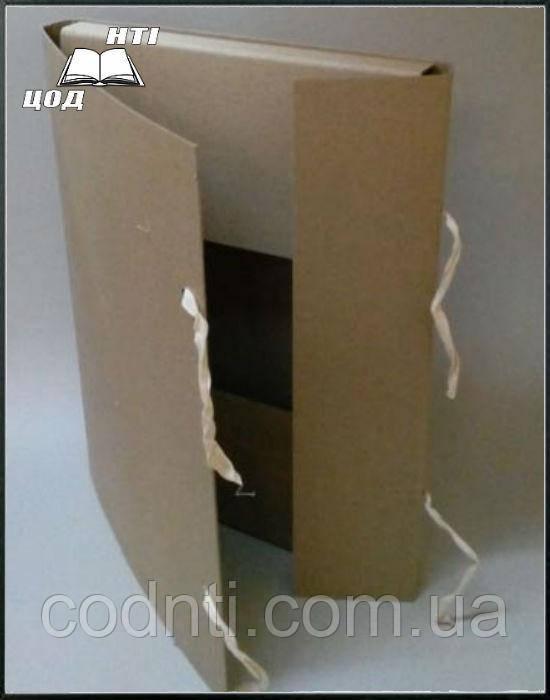 Папка А2 на завязках  из картона 2,0 мм