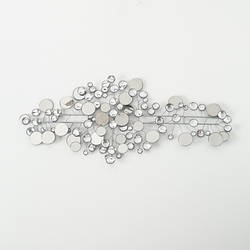 Настенный декор Рубин серебро