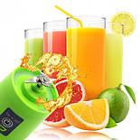 Портативный Мини Блендер USB Шейкер для Смузи Соковыжималка Smart Juice Cup Fruits, фото 4