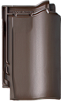 Керамическая черепица BRAAS Рубин 11 V коричневый ангоб