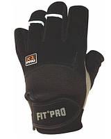 Перчатки для тяжелой атлетики Power System X1 Pro FP-01 Black L, фото 1