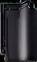 Керамическая черепица BRAAS Рубин 11 V черный матовый ангоб