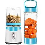 Портативный Мини Блендер USB Шейкер для Смузи Соковыжималка Smart Juice Cup Fruits, фото 8