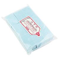 Безворсовые салфетки, 6Х4 см, (голубые)