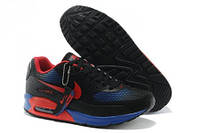 Кроссовки мужские Nike Air Max 90 GL (найк аир макс 90 гл) черно-синие